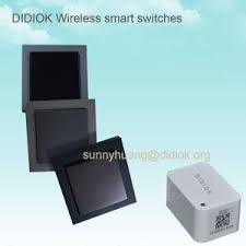 wifi controlled light switch waterproof battery free intelligent self powered remote control rf