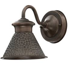 Hampton Bay Home Decorators Collection Home Decorators Collection Essen 1 Light Antique Copper Outdoor