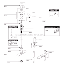 moen kitchen faucet repairs moen ca87480 parts list and diagram ereplacementparts