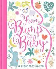 pregnancy journal book from bump to baby a pregnancy journal by tiger press