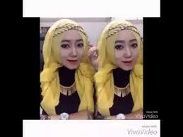 tutorial hijab paris zaskia tutorial hijab paris segi empat headband l zaskia adya mecca hijab