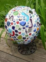 Gazing Globe Stand Creative Passage Mosaic Gazing Ball