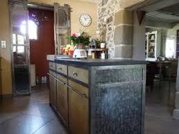 cuisine en metal cuisine métal et bois le bois chez vous