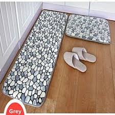 Bathroom Memory Foam Rugs Ustide 3 Bohemia Washable Bathroom Rug Kitchen Rug Set