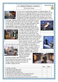 23 free esl christmas carol worksheets