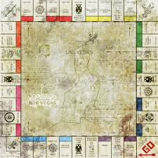 New Vegas Map Fallout New Vegas Opoly Pre War Edition By Stjost On Deviantart