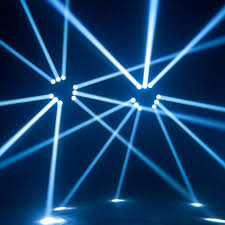 club dj spider beam light 9 leds spider moving 371 44
