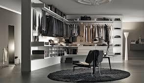 corner walk in wardrobe modular contemporary wooden