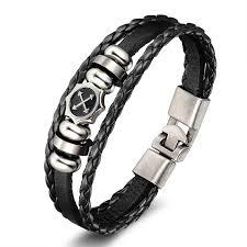 leather hand bracelet images Bracelets brown infinity bracelets bangles genuine leather hand jpg