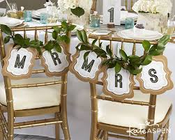 Wedding Chair Signs Wedding Wednesday Diy Mr And Mrs Chair Signs Kate Aspen Blog
