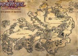 dungeon siege 3 map image aranna jpg dungeon siege wiki fandom powered by wikia