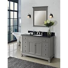 fairmont designs bathroom vanities fairmont designs 1504 v48 smithfield 48 vanity medium gray