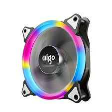 120mm rgb case fan amazon com case fan aigo rgb led 120mm high airflow quiet edition