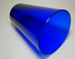Antique Cobalt Blue Vases Cobalt Blue Glass Etsy
