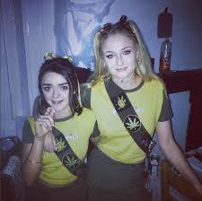 game of thrones u0027 stars dress up as hash brownies for halloween