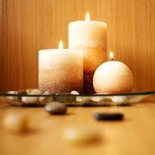 composizione di candele candela centrotavola donnad