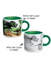 Color Changing Mugs Disappearing Dinosaurs Mug Unique Gifts Shop Colorful Gifts