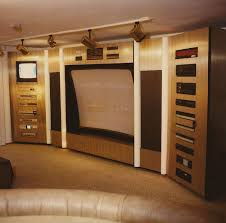 home theater interior beautiful beige wood luxury design cool home theater interior