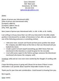 Follow Up Email After Resume Sample by Thank You Letter After Job Interview Http Resumesdesign Com