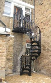 nice and appealing wrought iron spiral staircase model staircase best portaat images on pinterest stairs