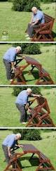 Foldable Picnic Table Bench Plans by Folding Picnic Table U0026 Bench Cool Stuff Pinterest Folding