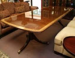 henredon heirloom mahogany dining table