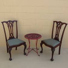 Antique Bistro Table Chair And Table Design Antique Bistro Table And Chairs