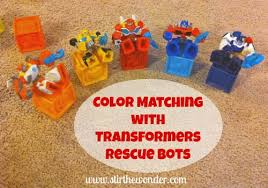 transformer rescue bots party supplies color matching with transformers rescue bots stir the