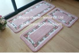 bath rug sets finest pcs flannel sunflower bath rug and mats sets