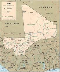 Mali Africa Map by Whkmla Historical Atlas Mali Page