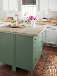 how to make a kitchen island out of base cabinets uk how to make a kitchen island better homes gardens