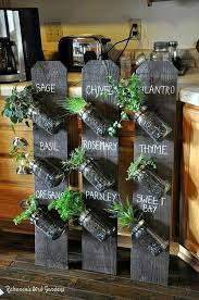 ideas for styling your home with indoor herb gardens