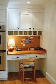 Kitchen Desk With Hutch Study Desk From Maximizing Kitchen Space Add A Study Work