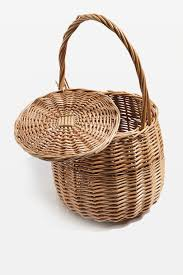 wicker tab basket bag topshop usa