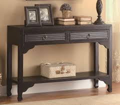 Black Console Table Flexible But Useful Black Console Table Home Furniture And Decor
