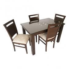 Teak Wood Dining Tables Even Hudson Wooden Teak Wood Dining Set Woodys Furniture