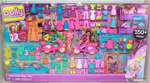 amazon polly pocket ultimate play 150 pieces toys u0026 games