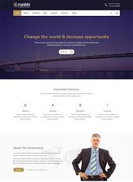 free bootstrap templates for government 30 best political website templates 2018 freshdesignweb