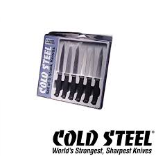 barringtons swords cold steel kitchen knives classic set of six