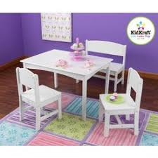 kidkraft avalon table and chair set white kidkraft avalon table and chair set vanilla