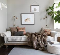 fur throws for sofas quick fix design 5 easy ways to refresh your plain beige sofa