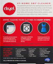 Dryer Leaves Marks On Clothes Dryel At Home Dry Cleaner Starter Kit 1 0 Kit Walmart Com