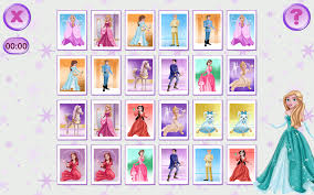 princess pairs memory games android apps on google play