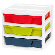 Desk Organizer With Drawer by Iris Usa 5 Drawer Activity Chest With Organizer Top Hayneedle