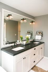 Mirror Backsplash In Kitchen by Best 25 Black Granite Countertops Ideas On Pinterest Black