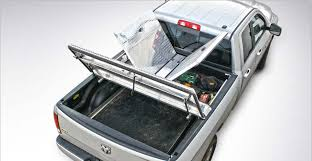 dodge truck beds top view of open diamondback 270 truck bed cover on silver