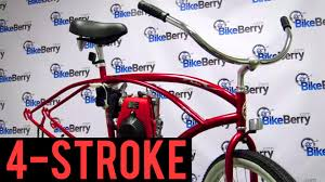 how to install a 48cc 4 stroke engine kit on your bicycle by