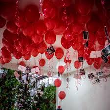 valentines day baloons s day balloons package 100 balloons with free