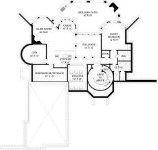 House Plans Courtyard by Hennessey House Courtyard 8093 4 Bedrooms And 4 Baths The