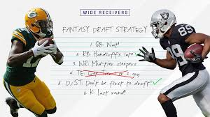 Fantasy Football Bench Players 2017 Fantasy Football Rankings Tiers Wide Receiver Draft Strategy